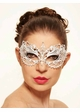 Angel Masquerade Mask with Crystals inset 2