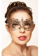Angel Masquerade Mask with Crystals inset 3