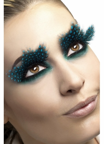 Aqua Dot Feather Lashes