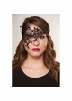 Asymmetric Lace Mask with Ribbon Ties inset 1