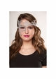 Asymmetric Lace Mask with Ribbon Ties inset 2