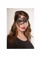 Asymmetric Lace Mask with Ribbon Ties inset 3