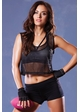 Athletic Net Crop Muscle Tank inset 1