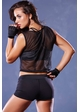 Athletic Net Crop Muscle Tank inset 2