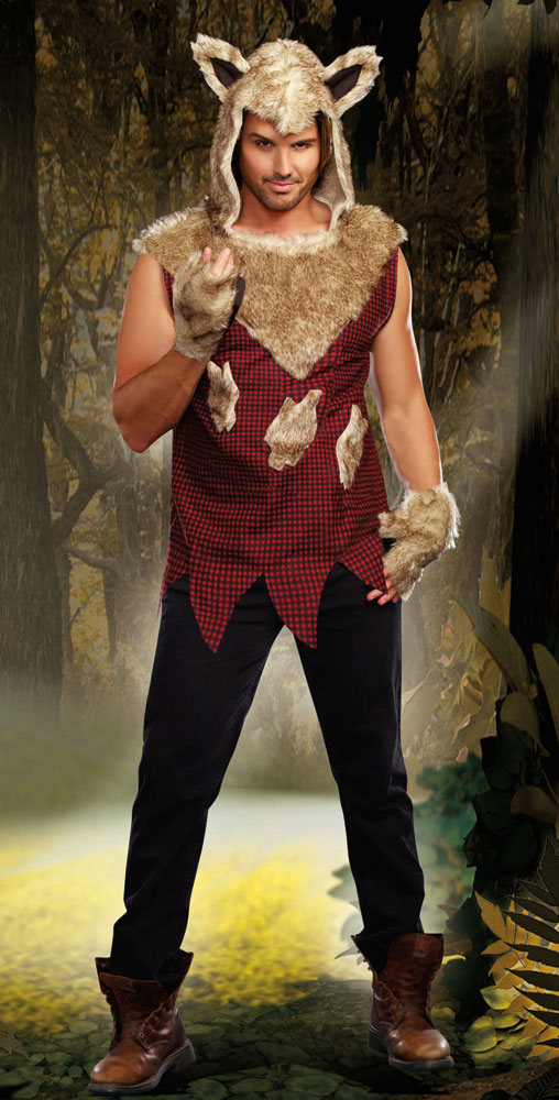 Big Bad Wolf Costume For Men