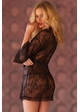 Black Lace Robe inset 1