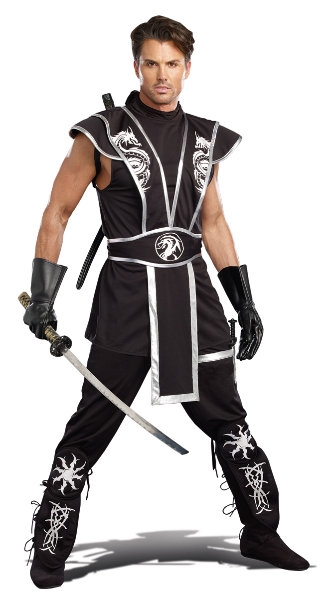 blades of death ninja halloween costume for men inset 2