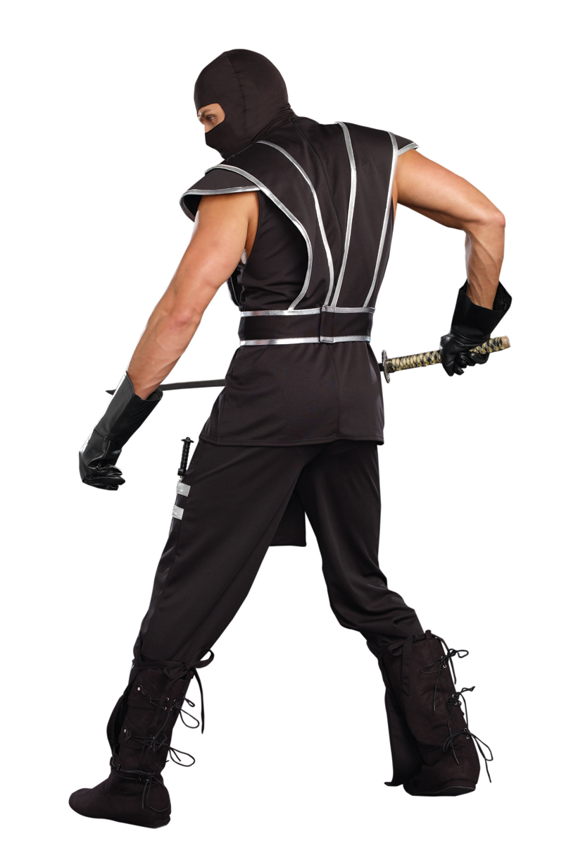 blades of death ninja halloween costume for men. Black Bedroom Furniture Sets. Home Design Ideas