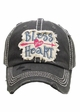 Bless Your Heart Patch Baseball Hat inset 4