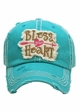Bless Your Heart Patch Baseball Hat inset 1