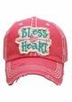 Bless Your Heart Patch Baseball Hat inset 2