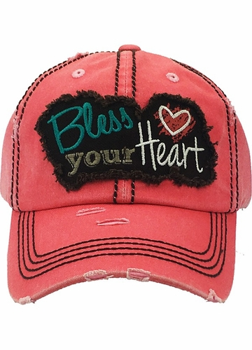 Bless Your Heart Vintage Cotton Hat