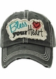 Bless Your Heart Vintage Cotton Hat inset 1