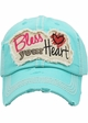 Bless Your Heart Vintage Cotton Hat inset 2