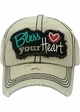 Bless Your Heart Vintage Cotton Hat inset 3