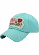 Bless Your Heart Vintage Cotton Hat inset 4