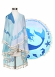 Blue Mermaid Beach Blanket Coverup inset 1