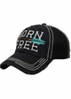 Born Free Canvas and Mesh Baseball Hat inset 2