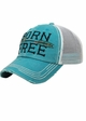 Born Free Canvas and Mesh Baseball Hat inset 3