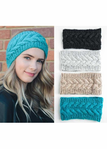 Braid Cable Knit Headband
