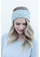 Braided Cable Winter Knit Headband inset 1
