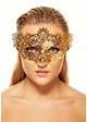 Brigitte Masquerade Mask with Crystals inset 1