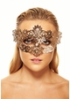 Brigitte Masquerade Mask with Crystals inset 2