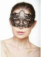 Brigitte Masquerade Mask with Crystals inset 4