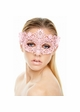 Brigitte Masquerade Mask with Crystals inset 3