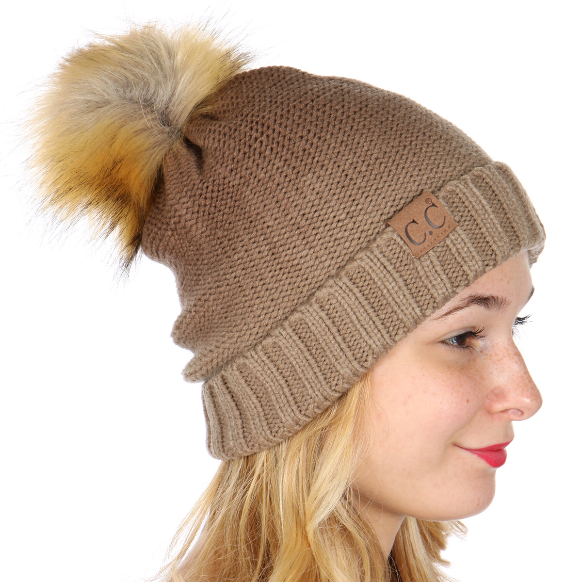 brown-ombre-fold-over-pom-pom-beanie-by-cc-12.jpg ccd29c94192
