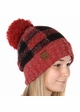 Buffalo Checker Lined CC Beanie Hat with Pom inset 3