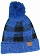 Buffalo Checker Lined CC Beanie Hat with Pom inset 4