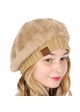 Cable Knit and Angora Beret by CC Brand inset 3