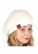 Cable Knit and Angora Beret by CC Brand inset 4