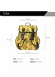 Cactus Print Canvas Backpack by Zohra inset 2