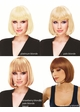 California Blonde Bob Wig with Bangs Cindy inset 1