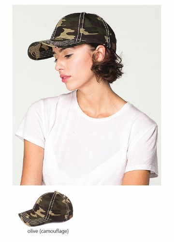 Camouflage Baseball Hat from CC Brand