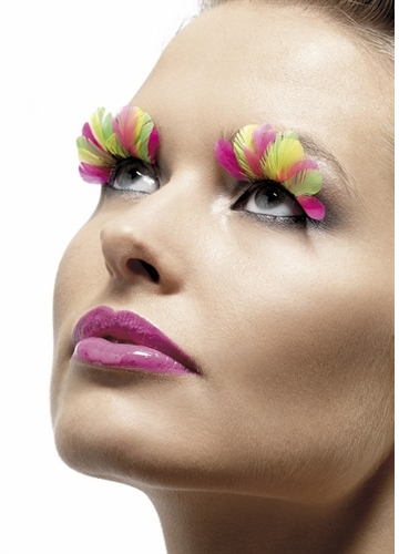 Carnival Feather Lashes