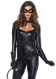 Cat Woman Catsuit Halloween Costume from Leg Avenue inset 4