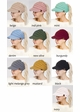 CC Beanie Hat with Brim and Ponytail Opening inset 1