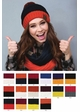 CC Brand Two Tone College Color Infinity Scarf inset 1