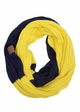 CC Brand Two Tone College Color Infinity Scarf inset 2