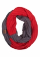 CC Brand Two Tone College Color Infinity Scarf inset 3