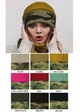 CC Knit Beanie Hat with Camouflage Cuff inset 2
