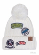 CC Knit Beanie Hat with Patches inset 3
