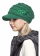 CC Knit Hat with Brim and Flower Applique inset 2