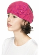 CC Knit Headband with Sequin Flower Accent inset 2