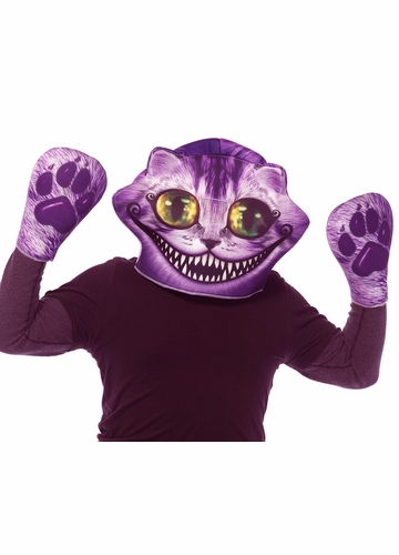 Cheshire Cat Foam Mask and Gloves