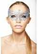 Chiara Colorful Masquerade Mask with Crystals inset 1