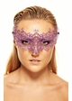 Chiara Colorful Masquerade Mask with Crystals inset 3